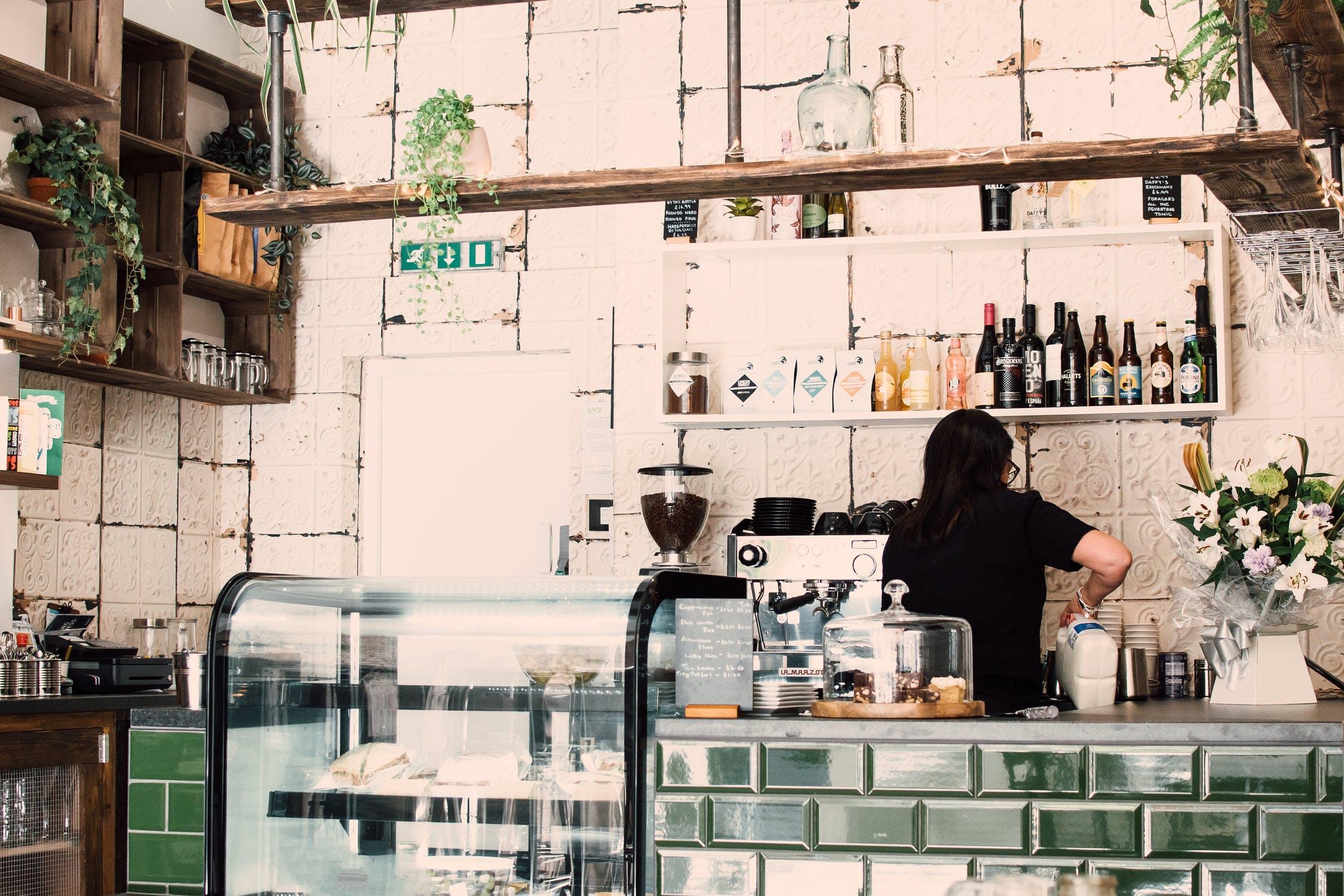 Koffiebar-Koffiehuis